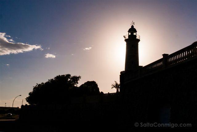 Catalunya Barcelona Vilanova i la Geltrú Faro San Cristofol
