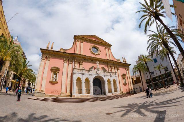 Catalunya Barcelona Vilanova i la Geltrú Iglesia Mare Deu Neus