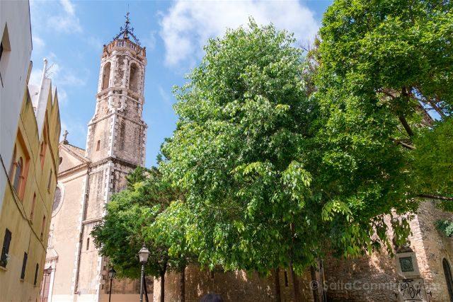 Catalunya Barcelona Vilanova i la Geltrú Iglesia Santa Maria