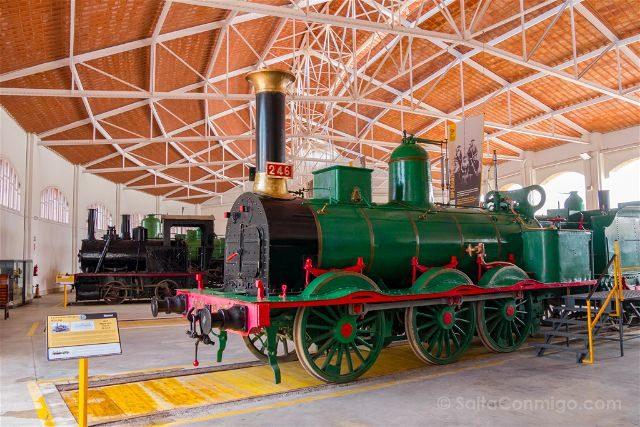 Catalunya Barcelona Vilanova Geltru Museo Ferrocarril Interior