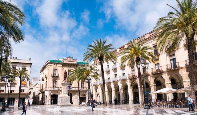 Catalunya Barcelona Vilanova i la Geltrú Plaza Villa