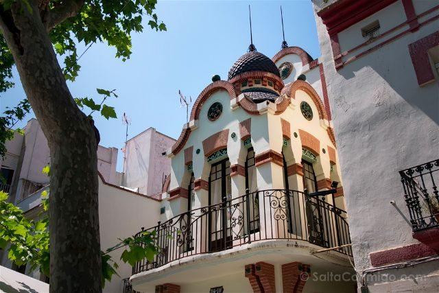 Catalunya Barcelona Vilanova i la Geltrú Rambla Casa Renard