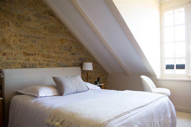 Francia Bretagne Douarnarnez Hotel Ty Mad Habitacion