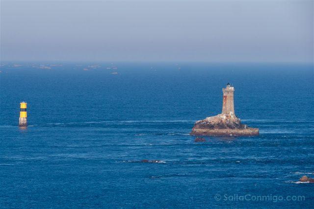 Francia Bretagne Pointe Du Raz Faro