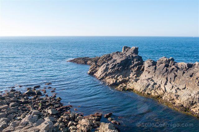 Francia Bretagne Pointe Du Raz Puerto Natural