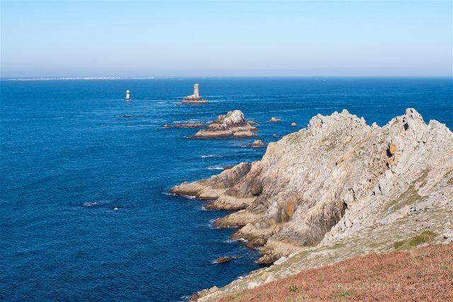 Francia Bretagne Pointe Du Raz Punta