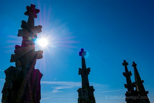 Francia Normandia Abadia Mont Saint-Michel Iglesia Torre Cielo