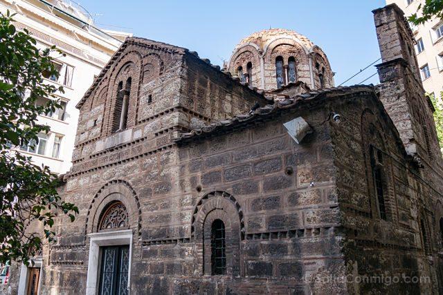 Grecia Atenas Agioi Theodoroi Iglesia San Teodoro