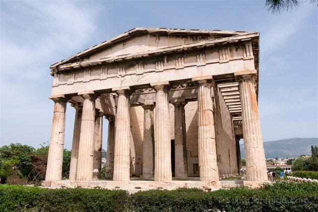 Grecia Atenas Agora Antigua Hefestion Teseion