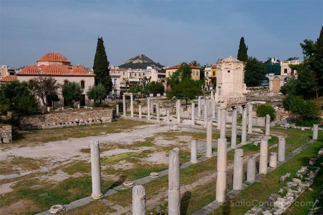 Grecia Atenas Agora Romana Torre Vientos