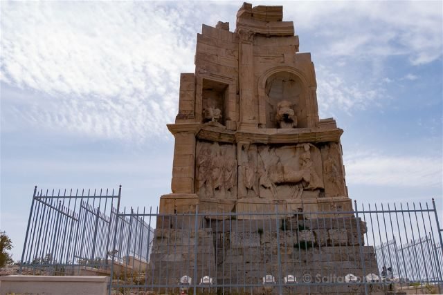 Grecia Atenas Colina Mouseion Monumento Filopapos