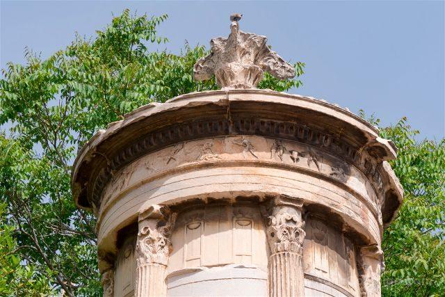 Grecia Atenas Detalle Linterna Lisicrates