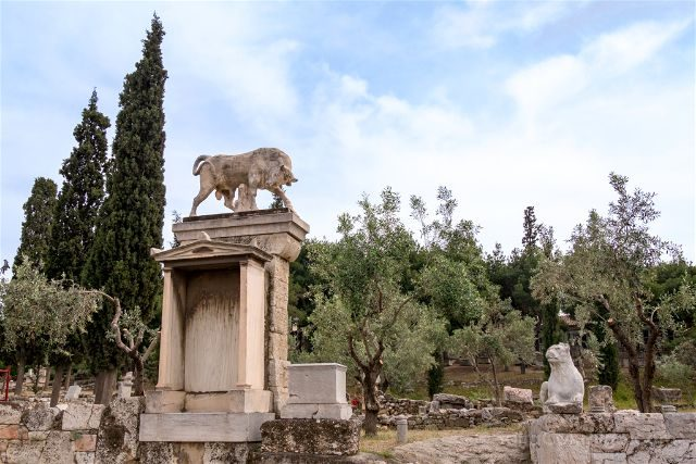 Grecia Atenas Kerameikos Dionisos Kollytos