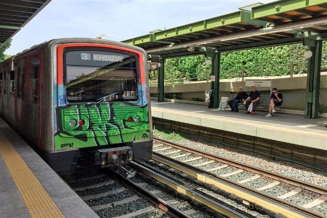 Grecia Atenas Metro