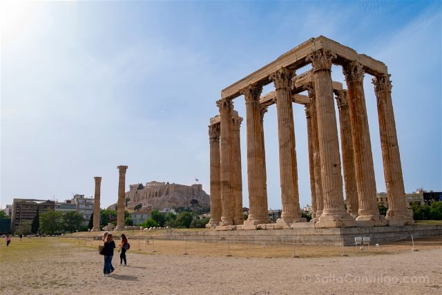Grecia Atenas Olimpeion Zeus Olimpico