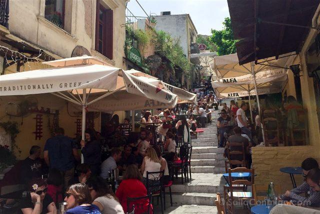 Grecia Atenas Plaka Restaurantes