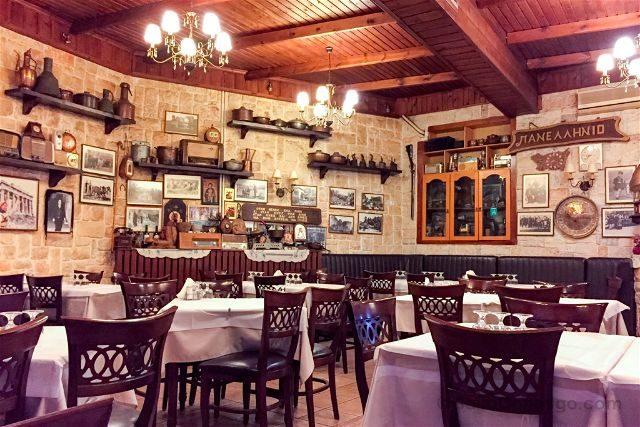 Grecia Meteora Restaurante Panellenion