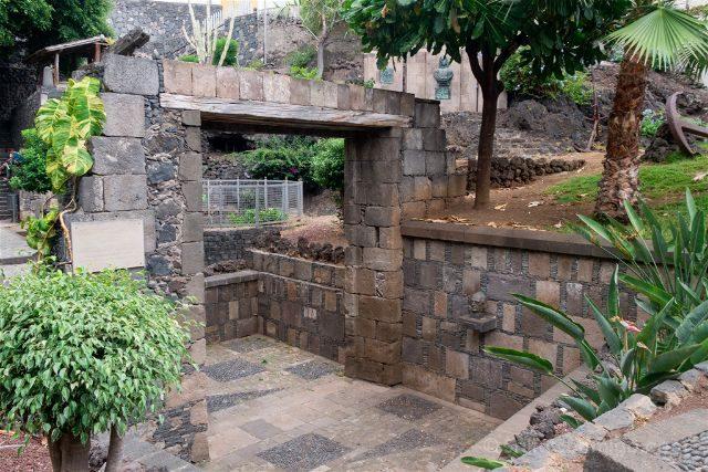 Islas Canarias Tenerife Norte Garachico Arco Puerto