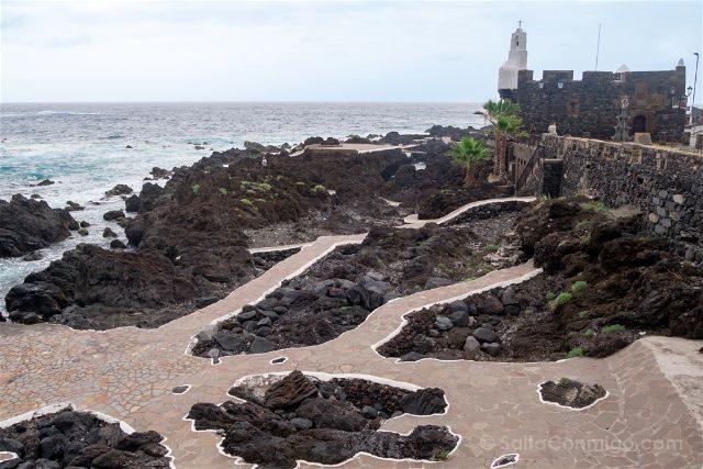 Islas Canarias Tenerife Norte Garachico Castillo-Fortaleza San Miguel