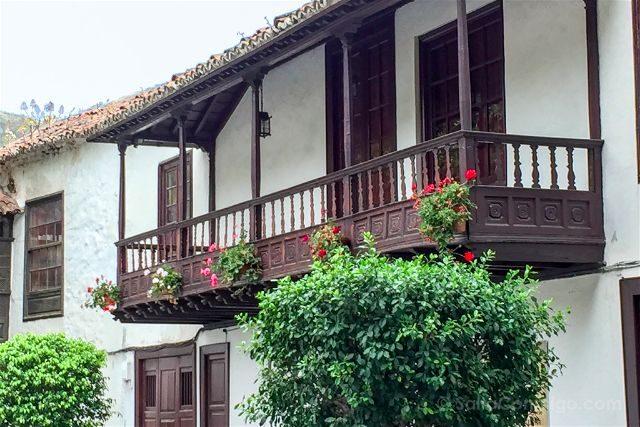 Islas Canarias Tenerife Norte Icod De Los Vinos Balcones