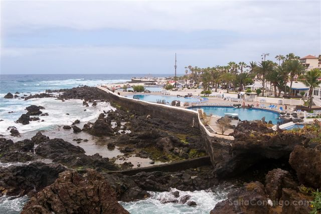 Islas Canarias Tenerife Norte Puerto De La Cruz Lago Martianez