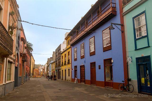 Islas Canarias Tenerife Norte San Cristobal La Laguna Calles
