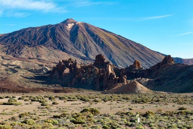 Islas Canarias Tenerife Teide Canadas Pico