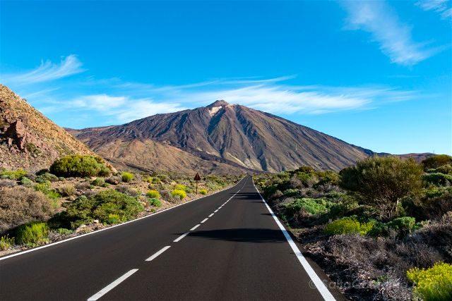 Islas Canarias Tenerife Teide Pico Carretera