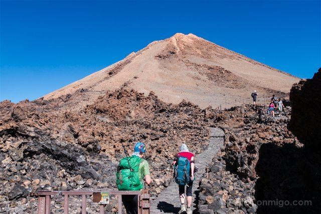 Islas Canarias Tenerife Teide Sendero Cima Telesforo Bravo