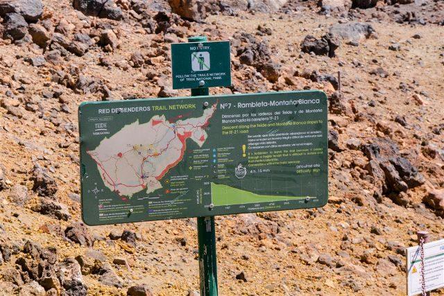 Islas Canarias Tenerife Teide Subida Pie