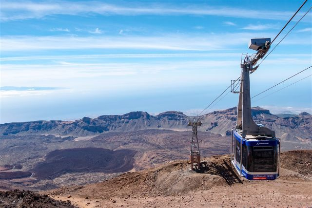 Islas Canarias Tenerife Teide Teleferico