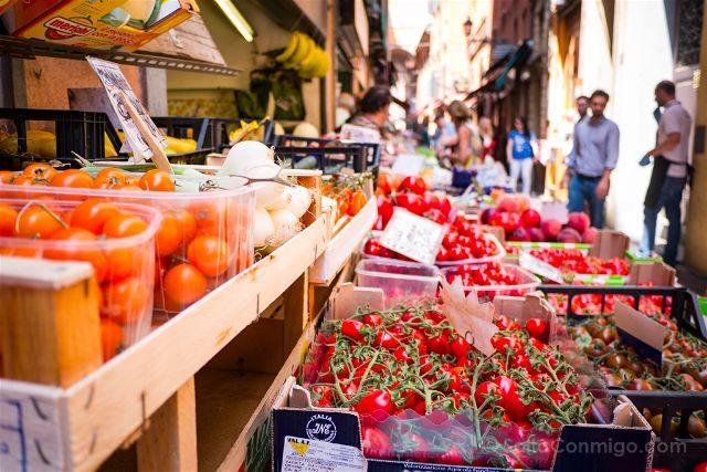 Italia Emilia Romagna Bologna VizEat Food Tour Via Pescherie Vecchia Fruteria