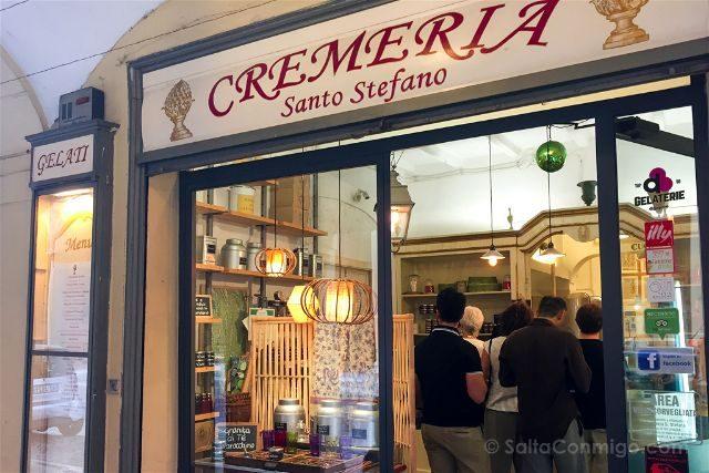 Italia Emilia Romagna Helados Bologna Santo Stefano Fachada