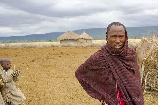 Tanzania Masai Boma