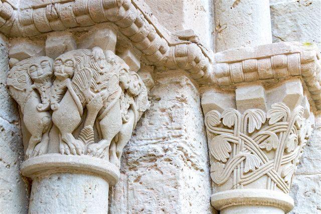 Barcelona Mon Sant Benet Monasterio Capiteles