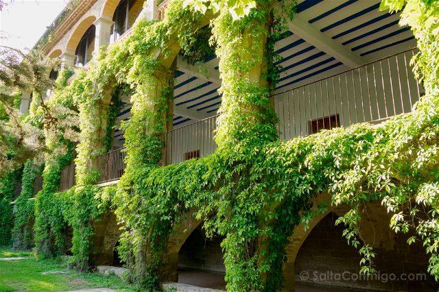Barcelona Mon Sant Benet Residencia Casas Exterior