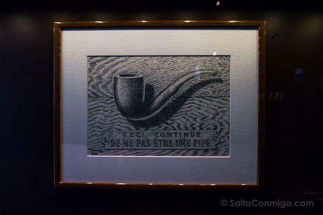 Belgica Bruselas Magritte Museo Pipa