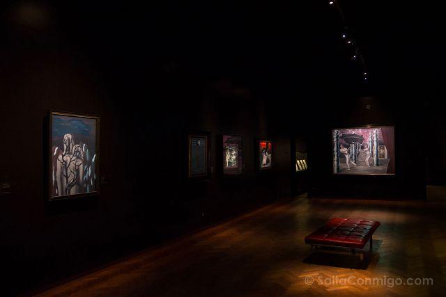 Belgica Bruselas Magritte Museo Sala