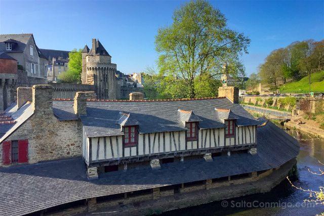 Francia Bretagne Vannes Lavaderos