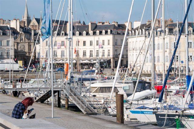 Francia Bretagne Vannes Puerto Deportivo