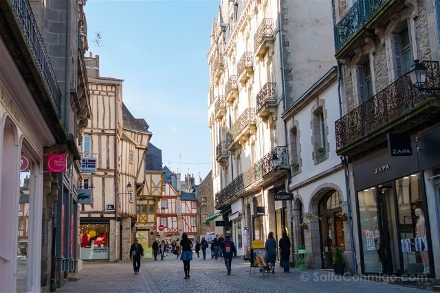 Francia Bretagne Vannes Rue Monnaie