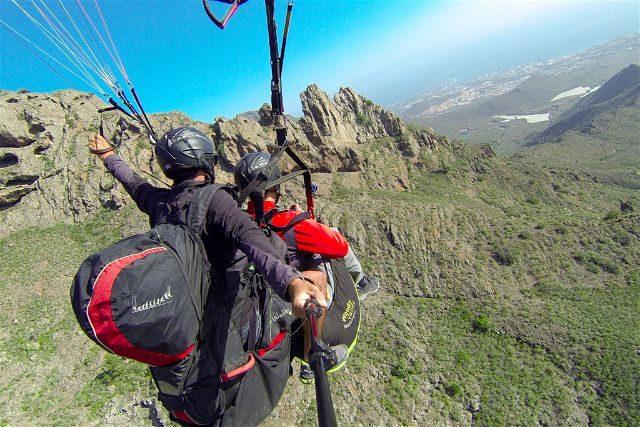 Islas Canarias Tenerife Parapente Enminube JAAC Picos