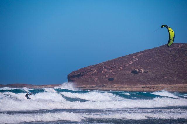 Islas Canarias Tenerife Playa Medano Kitesurf