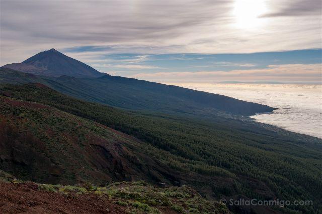 Islas Canarias Tenerife Teide Miradores Mar Nubes