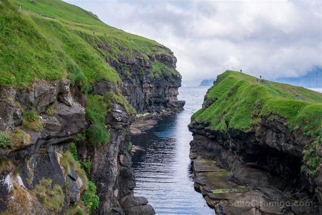Islas Feroe Garganta Gjogv