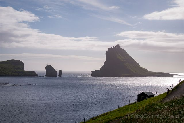 Islas Feroe Islotes Tindhólmur y Gáshólmur