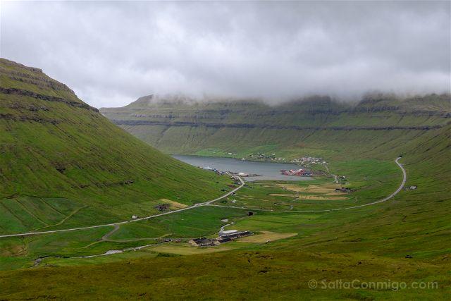 Islas Feroe Vistas Oyggjarvegur