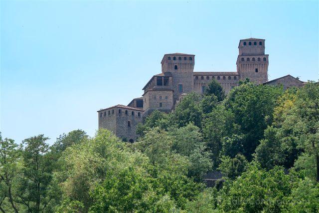 Italia Emilia Romagna Parma Castello Torrechiara