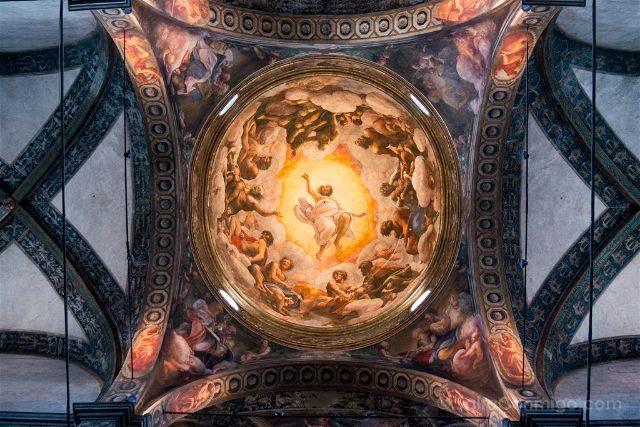 Italia Emilia Romagna Parma San Giovanni Evangelista Vision
