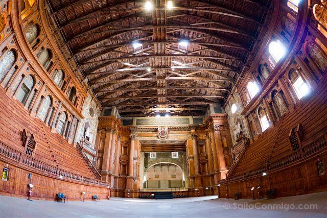 Italia Emilia Romagna Parma Teatro Farnesio